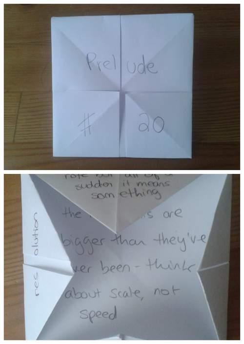 Origami Prelude #20